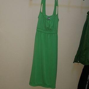 Green North Face Dress sz small